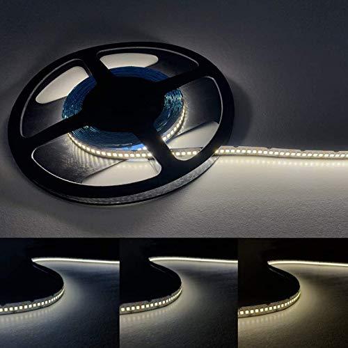 Ruban LED 5M 24V 2835 IP20 240LED/m - Blanc Neutre 4000K - 5500K - SILAMP