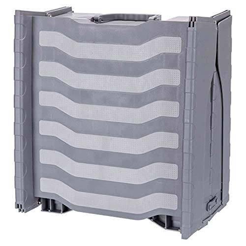 Trixie 39476 Rampe, 3-fach klappbar, Kunststoff, 39 × 150 cm, grau