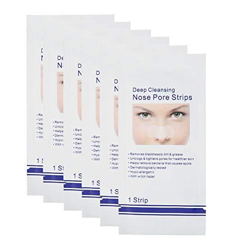 Tiras de limpieza profunda para eliminar los poros de la nariz para espinillas Máscara de limpieza profunda para la nariz Tiras para eliminar las espinillas de la nariz