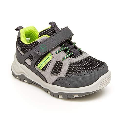 Stride Rite 360 Boy's Artin 2.0 Athletic Running Shoe, Grey, 10 Toddler