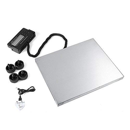 Bilancia industriale Bilancia Postale Digitale Piattaforma Impermeabile in Acciaio inox Base con display deportato,peso magazzino 150kg / 0.05kg,300kg / 0.1kg