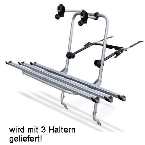 MENABO Logic Fahrrad Heckträger kompatibel mit Seat Altea 2004-2009 3 Räder Fahrradträger