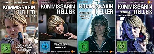 Kommissarin Heller 9 Filme Paket u.a. Vorsehung / Herzversagen [DVD Set]