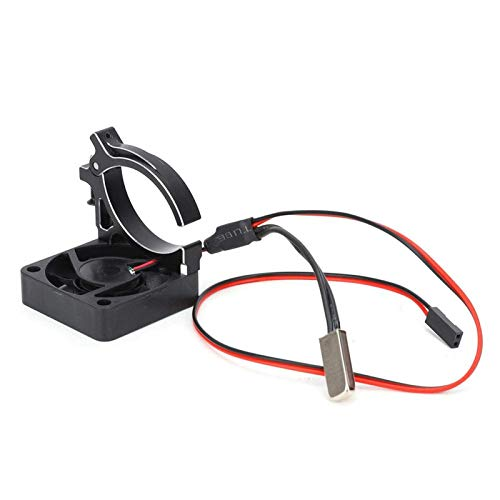 Accesorios de juguete Ventilador a prueba de humedad con estructura de clip Accesorios de aleación de aluminio para automóvil Rc Ventilador de disipación de calor para automóvil Rc para automóvil de r