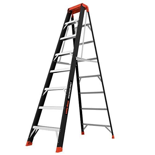Little Giant Ladders, MicroBurst, 8' Stepladder, Fiberglass, Type 1A, 300 lbs weight rating, (15710-001)