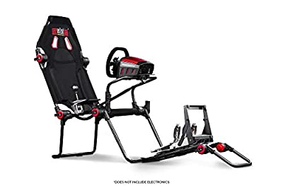 Next Level Racing F-GT Lite Formula and GT Foldable Simulator Cockpit - Not Machine Specific