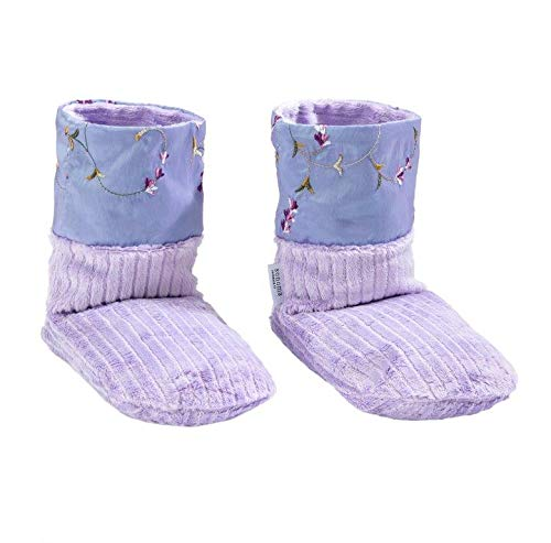 Sonoma Lavender Spa Bootie - Embroidered Lavender