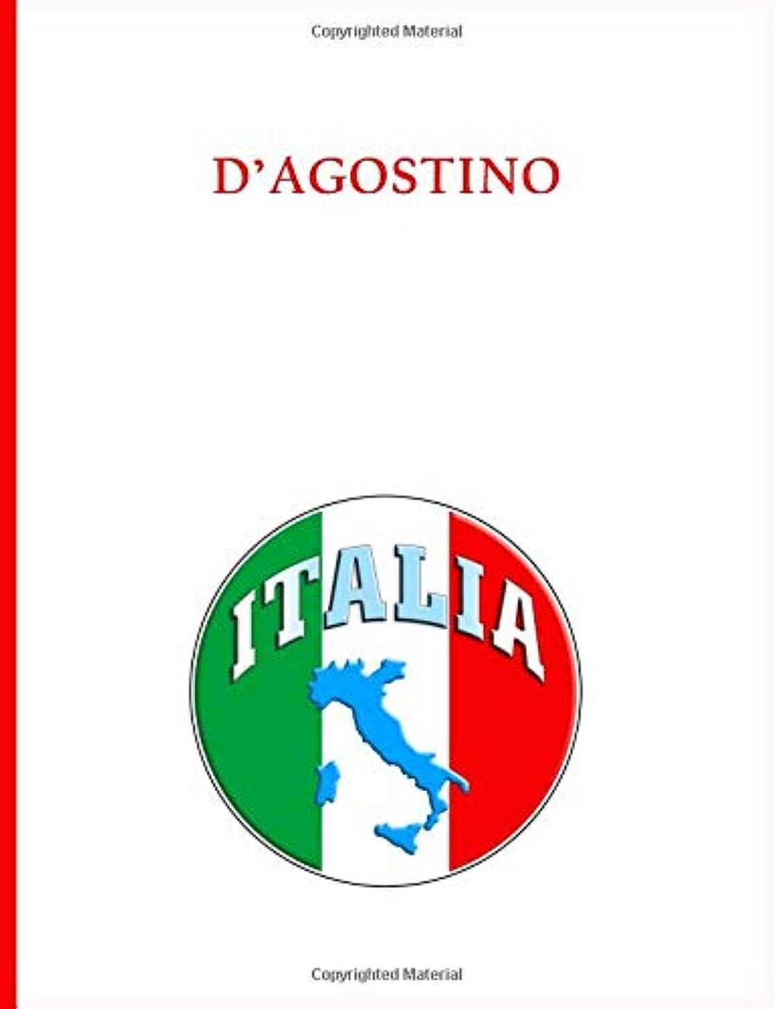 共和党ジレンマひどくD'Agostino Family Notebook