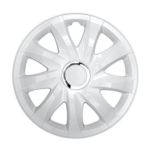NRM Radzierblende Drift weiß 14 Zoll 4er Set