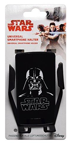 Star Wars STINN090 Soporte Universal para Smartphone para Rejilla de ventilación, Negro