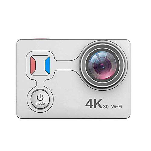 Luckyza WiFi Action Fotocamera Impermeabile 4K 14MP 1080P Ultra HD 170 ° Grandangolare Sport Action Camera 98Ft / 30M Videocamera...