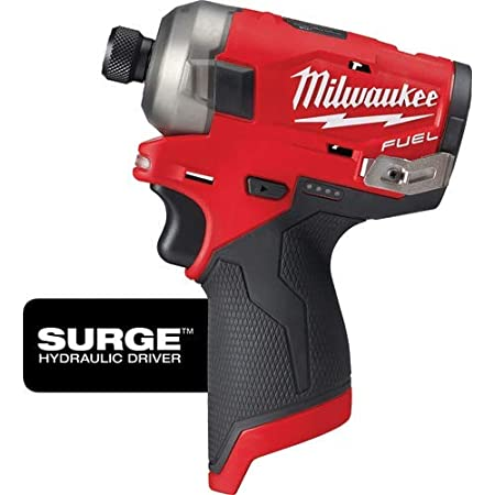 Bare Tool Only No Battery No Charger M12 Fuel Surge 1//4 Hex Hydraulic Driver