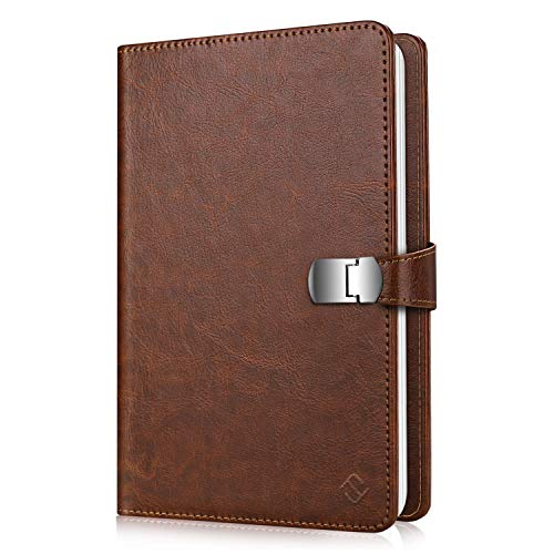 Fintie Wallet Photo Album for Fujifilm Instax Wide 300, Polaroid OneStep 2-64 Pockets (Snap Fastener) Album, Compatible with Polaroid POP, Originals 600 Camera 3.5x4.5 Inch Film (Vintage Brown)