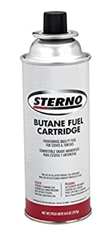 Sterno 50130 8-Ounce Butane Fuel Cartridges  RETAIL 4-PACK