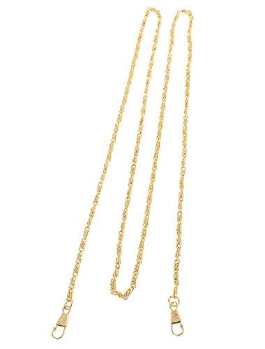 sourcingmap Handbag Tasche Dekor Metall Kette Ersatzteil 120cm Lang Brass Qualität