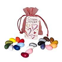 Crayon-Rocks-lapices-de-Colores-de-SOYA-no-toxicos-para-ninos-Estimulante-el-Mango-de-lapiz-Tiza-Duradera-en-20-Colores-Edicion-de-Valentin-Verano-o-Halloween