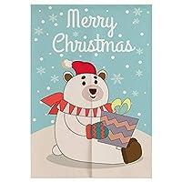 """クリスマススタイル8日本のドアカーテンのれん寝室のキッチンカーテンホームエントランスの装飾カスタマイズ可能なカーテン33.5""""x 59"""""""