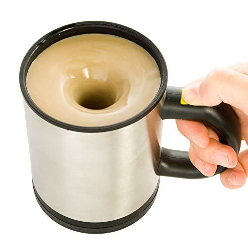 Monsterzeug Selbstrührender Becher, Tasse mit Rührfunktion, automatische selbst umrührende Kaffeetasse