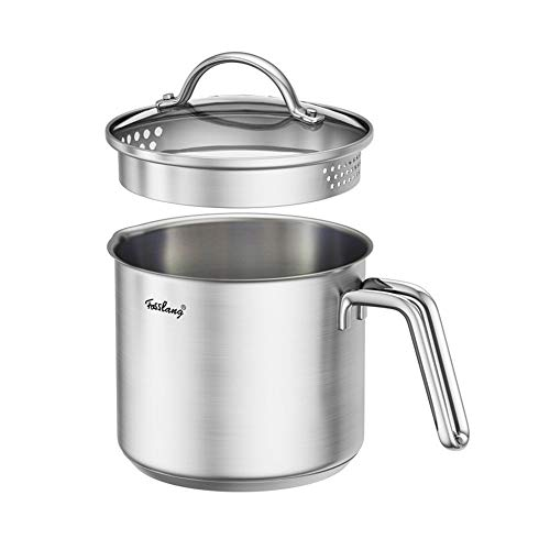 1.5 Quart Stainless Steel Saucepan With Pour Spout