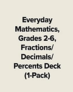 Everyday Mathematics, Grades 2-6, Fractions/Decimals/Percents Deck (1-Pack) (EVERYDAY MATH GAMES KIT)