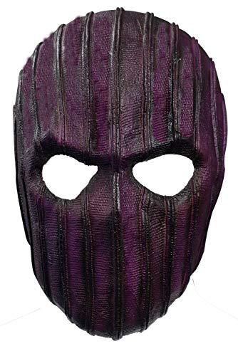 Soldato Invernale Barone Zemo Copricapo Bucky Barnes Cosplay Puntelli Halloween Lattice Full Face Cover Shield Come mostrato Taglia unica
