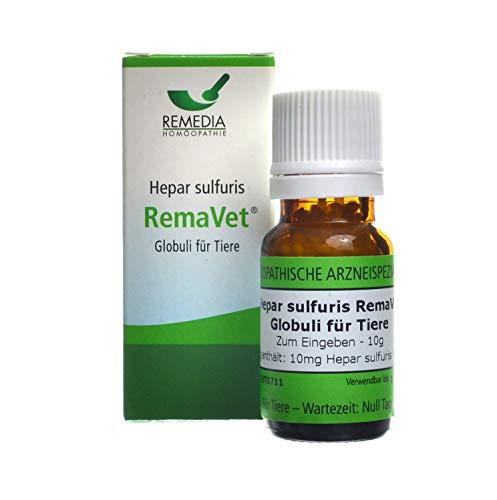 RemaVet Globuli für Tiere HEPAR SULFURIS