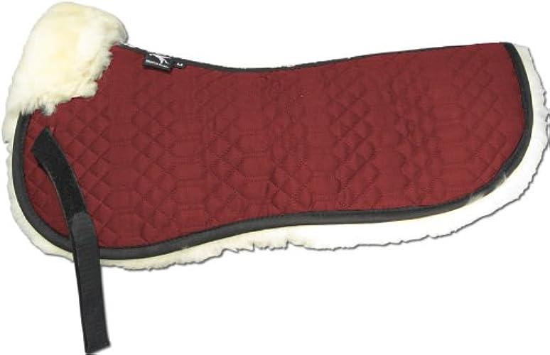 Engel Gerhommey Demi-Chabraque DE en Peau de Mouton Couleur Coton Rouge (Sakis 1) Combinez-Vous avec 12 Coleur de Peau de Mouton