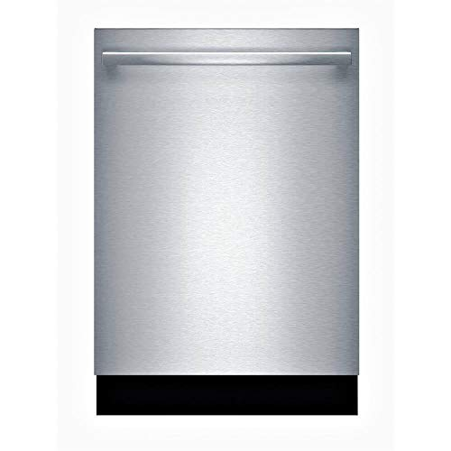 Bosch 100 Series Top Control Tall Tub Dishwasher in Stainless Steel with Hybrid Stainless Steel Tub and 3rd Rack, 48dBA