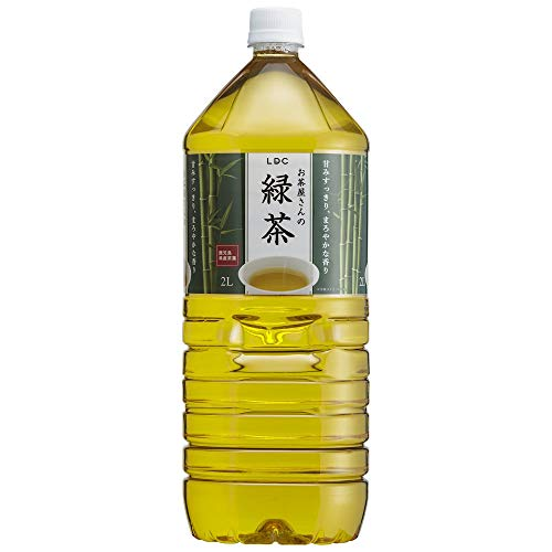 ライフドリンクカンパニー お茶屋さんの緑茶2L ×6本