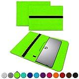 UC-Express Sleeve Hülle für Dell XPS 13 9380 9370 9360 9365 Tasche Filz Notebook Cover Laptop Hülle 13,3 Zoll Schutzhülle, Farben:Grün