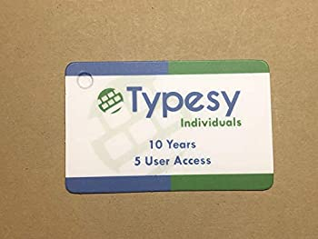 Typesy for Individuals  Amazon Exclusive Key Card