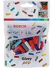 Bosch 70 stuks. Gluey lijmsticks (Gluey Sticks POP, afmetingen van de stick: 20x7mm, accessoires voor lijm lijm lijm lijm
