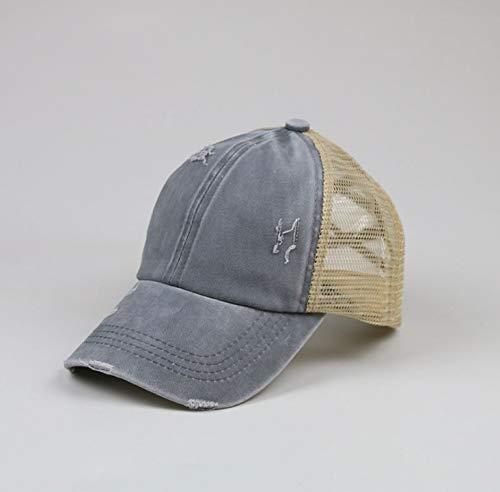 wtnhz Modische Kleidungsstücke Hut Frauen Sommer, Frühling und Herbst Machen die alte Outdoor-Sonnenhut einfarbig Kappe Geschenk