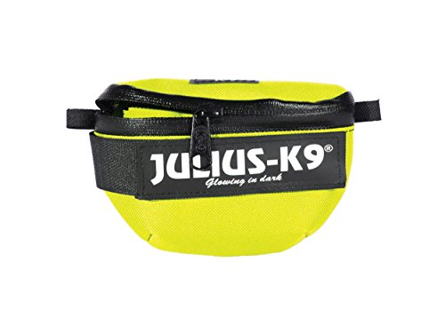Julius-K9 | IDC Universal Side Bags/Pair | Harness Size: Baby1 - Mini-Mini | neon