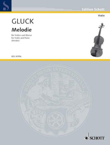 Melodie : für Violine und Klavier