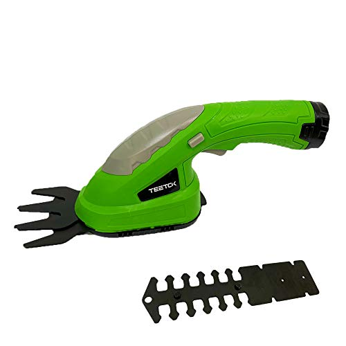 2-In-1 Handheld Electric Cordless Grass Shears Garden Handheld Hedge...