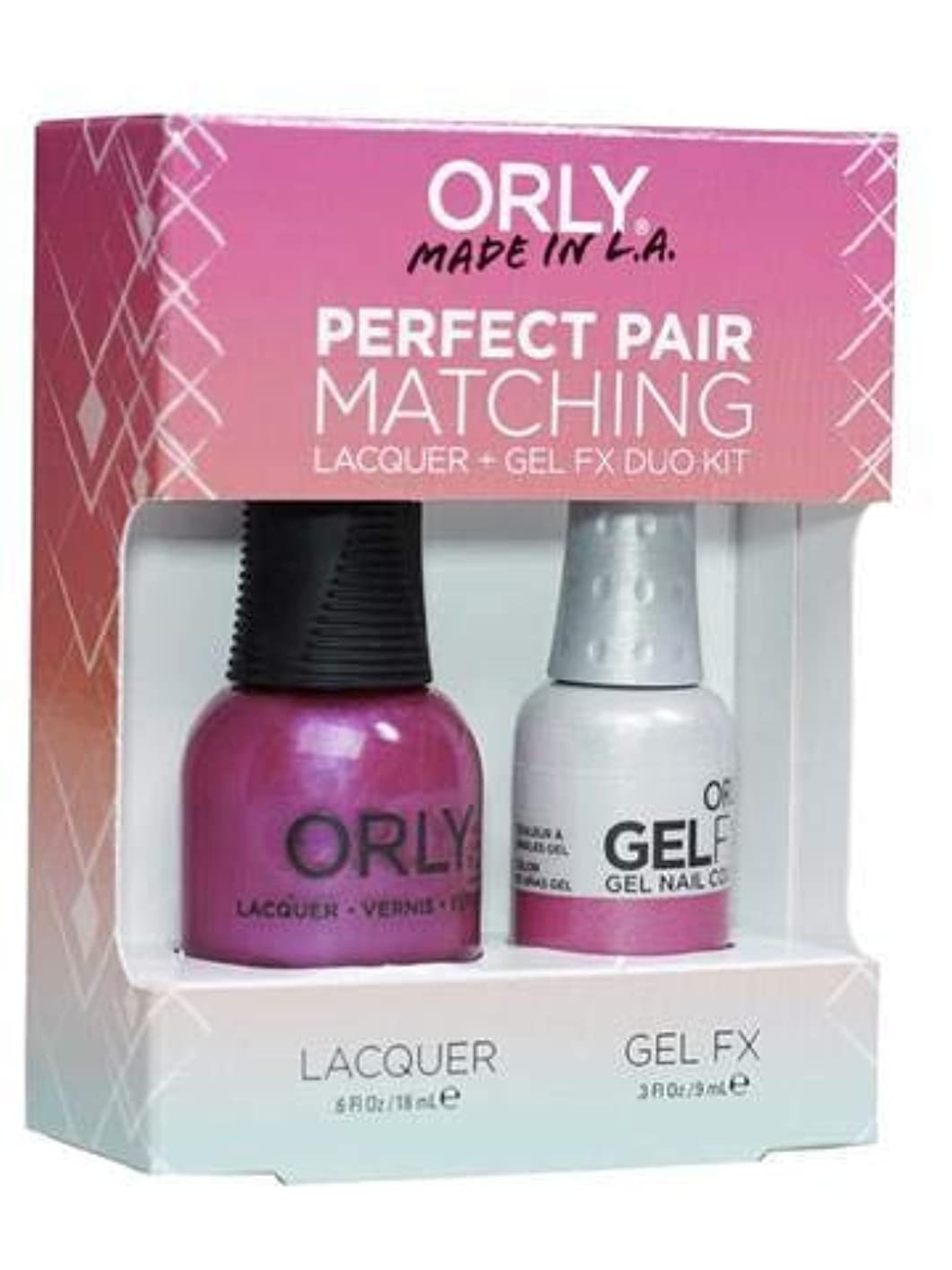 特異性一杯の中でOrly Lacquer + Gel FX - Perfect Pair Matching DUO Kit - Gorgeous