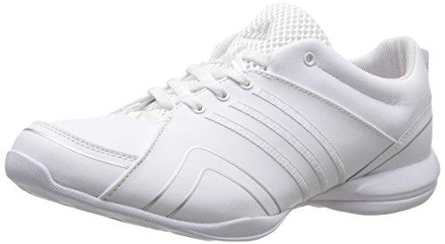 adidas Damen Cheer Flyer Cross-Trainer Schuh, Weiá (Weiß/Silber/Silber), 40 EU