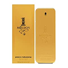 1 Million by Paco Rabanne for Men 6.7 oz EDT Spray: Buy Paco Rabanne Colognes - A supremely facetted and harmonious fragrance with a high impact signature. A flamboyant, fresh, spicy leather, and audacious fragrance.Details provided by Paco Rabanne I...
