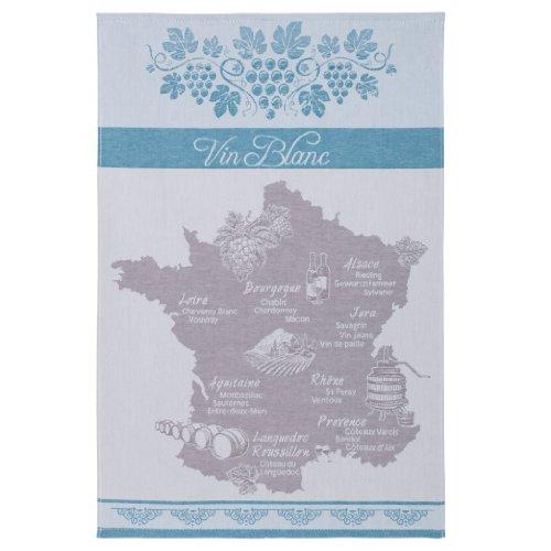 Coucke Torchon, Coton, Bleu, 50 x 75 cm