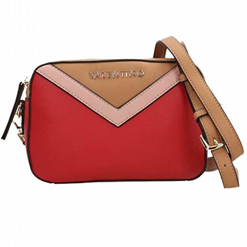Valentino Shoppers en Schoudertassen voor Vrouwen, Kleur Rood, Merk, Model Shoppers en Schoudertassen voor Vrouwen Helm Rood