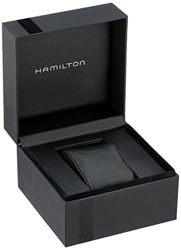 Hamilton Homme Analogique Quartz Montre avec Bracelet en Cuir H64611555