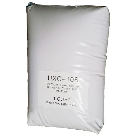 10% Strong Acid Water Softening Resin 1 cu. ft. Bag Replacement Media