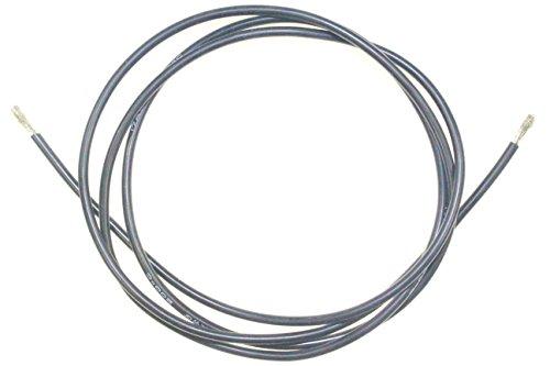 Silikonkabel 17 AWG Silikon Kabel in Schwarz Innen Ø 1,3mm Außen Ø 2,7mm Stromkabel Elektrokabel Meterware Modellbau RC Modellbau Neu Power cable