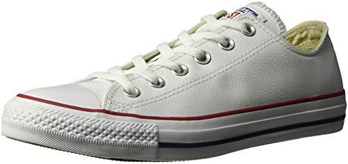 Converse 132173CA Tenis de Tenis para Mujer, color Blanco, 23