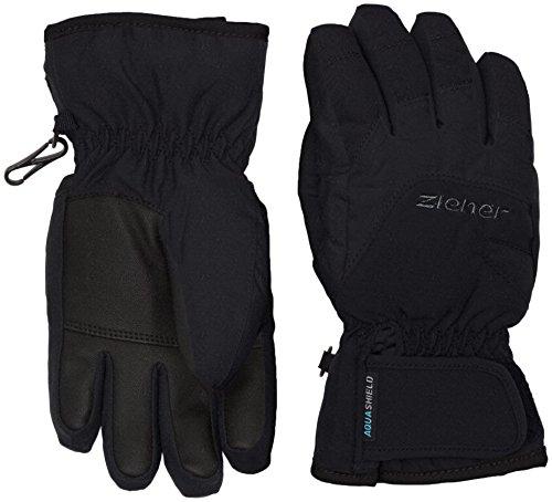 Ziener Kinder Lizzard AS(R) Glove junior Handschuh, Black/Black, 5