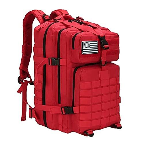 Red de Gran Capacidad 50l Man Army Tactical Assault Bolsas Mochilas al Aire Libre Militar 3p EDC Molle Paquete para el Senderismo Caza Que acampa Bolsa