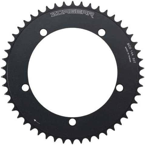 shopping Zoagear Single Direct store Speed Chainring 144 BCD Fixed Bike 50 Gear Teeth