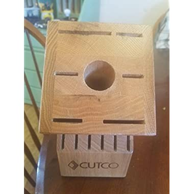 CUTCO Butcher Block Knife Set - Not Included - Holder - 13 slots