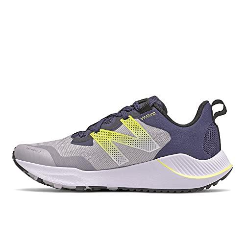 New Balance NTR, Zapatillas para Carreras de montaña Mujer, Gris (Whisper Grey), 37 EU